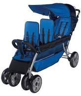 Foundations LX3 Three Passenger Stroller - Blue