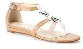"Calvin Klein Savina"" T-Strap Sandal"