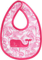 Vineyard Vines Flamingo Print Bib