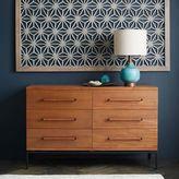 west elm Nash 6-Drawer Dresser - Teak