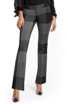 New York & Co. Tall Plaid Straight-Leg Pant - Signature - 7th Avenue