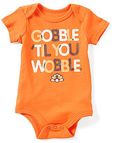 Baby Starters Baby Boys 3-12 Months Thanksgiving Gobble Til You Wobble Bodysuit