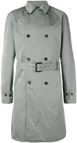 Jil Sander double breasted trench coat - men - Polyester - 48