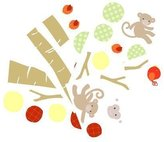 Lambs & Ivy Wall Appliques, Butterscotch by