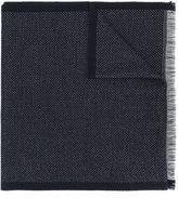 Z Zegna frayed scarf
