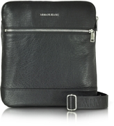 80bb08161a68 Armani Jeans Black Eco Leather Men s Crossbody Bag