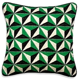 Jonathan Adler Bargello Diamond Stud Pillow, 22 x 22