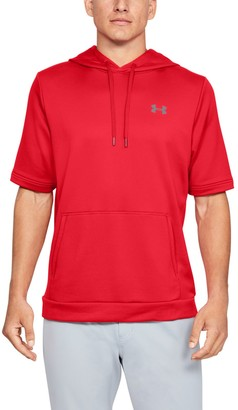 Under Armour Men's UA Utility Cage Short Sleeve Hoodie