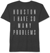 JEM Men's Big & Tall Houston Problems Graphic-Print T-Shirt
