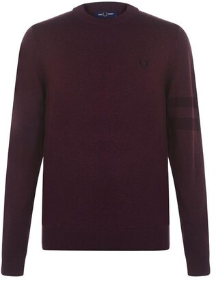 Fred Perry Fred Tipped Cew Neck Jumper