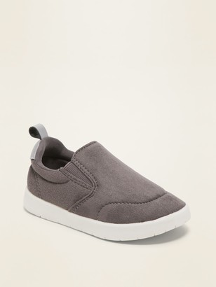 Old Navy Lightweight Faux-Suede Slip-On Sneakers for Toddler & Baby