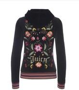 Juicy Couture Logo Velour Garden Embroidery Robertson Jacket