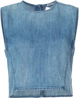 Rachel Comey sleeveless denim top