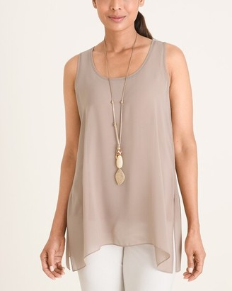 Chico's Marla Wynne for Chiffon Tank