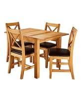 Fashion World Harrogate Small Extending Table 4 Chairs