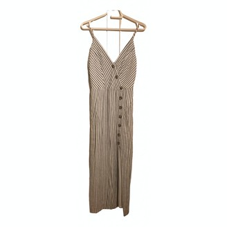 Urban Outfitters White Linen Dress for Women