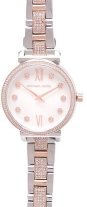 MICHAEL Michael Kors Ladies Sofie Floral Watch