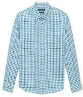 Camden Standard-Fit Linen Gingham Shirt