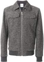 Wood Wood zip up shirt jacket