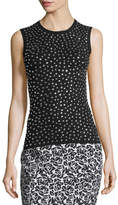 Michael Kors Studded Knit Shell Tank