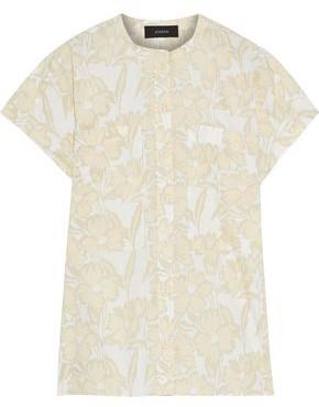 Joseph Issac Floral-print Cotton-poplin Shirt