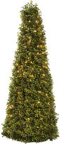 Asstd National Brand 39 Christmas Tree Boxwood Cone With Lights