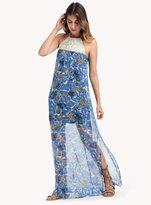Ella Moss Tahiti Garden Macrame Dress