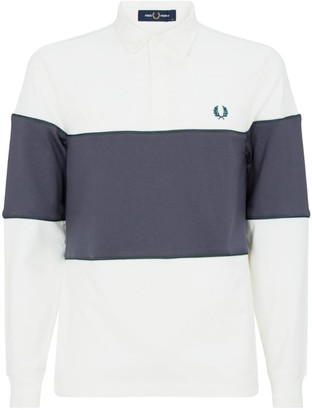 Fred Perry Colour-Block Rugby Shirt