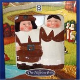 Publix The Pilgrim Pair Collectible Thanksgiving Spoon Rest