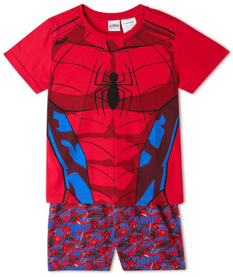 Milkshake Spiderman Red Pyjama Set