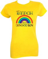 Grindstore Women's Bitch I'm A Unicorn T-shirt