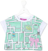 Valmax Kids - printed T-shirt - kids - Cotton/Elastodiene - 4 yrs