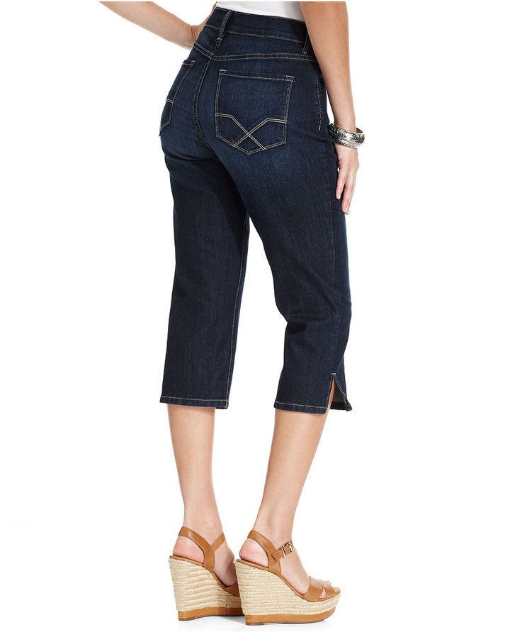 NYDJ Jeans, Isla Skinny Capris, Hollywood Wash