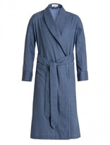 Emma Willis Blue Gingham Dressing Gown