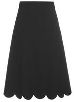 RED Valentino Crêpe Skirt
