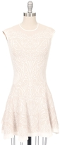 RVN Lace Jacquard Dress