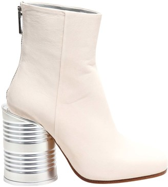 MM6 MAISON MARGIELA Tin Can Ankle Boots