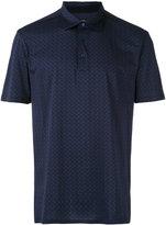 Ermenegildo Zegna patterned polo - men - Cotton - 48