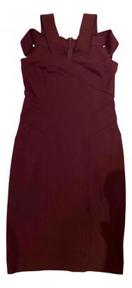 Donna Karan Burgundy Cotton Dresses