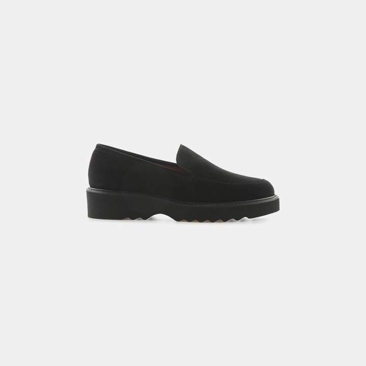 Aquatalia Kelsey Suede Loafer