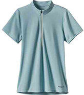 Patagonia Women's Short-Sleeved Fore Runner Zip-Neck Shirt