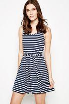 Jack Wills Dress - Abderdy Belted Stripe