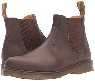 Dr. Martens 2976 Chelsea Boot (Gaucho Crazy Horse) Lace-up Boots