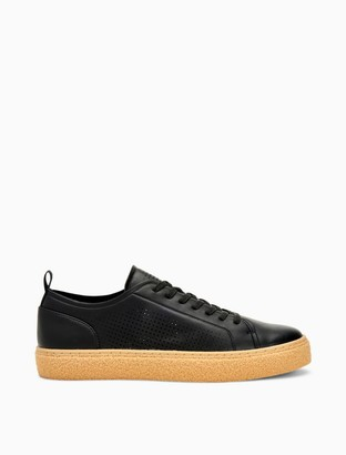 Calvin Klein Everett Leather Perforated Sneaker