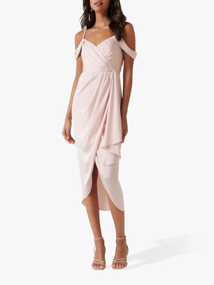 Forever New Hadley Midi Dress, Blush