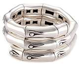 John Hardy Silver coil ring