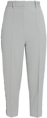 DAY Birger et Mikkelsen Grosgrain-trimmed Pique Tapered Pants