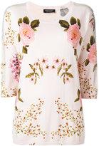 Twin-Set floral jumper - women - Cotton/Viscose - S
