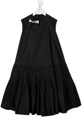 Simonetta Tiered Flare Dress