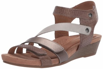 Cobb Hill womens Hollywood 4 Strap Flat Sandal